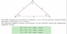 Kosinüs Teoremi 11. Sınıf